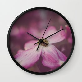 Dogwood Wall Clock
