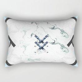 Scandinavian Marble Rectangular Pillow