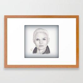Jennifer Morrison Framed Art Print