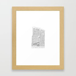 Laurelhurst Framed Art Print