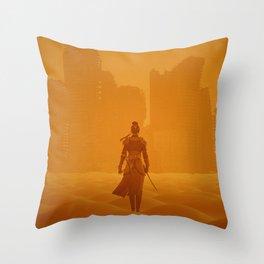 Apocalypse Samurai Throw Pillow