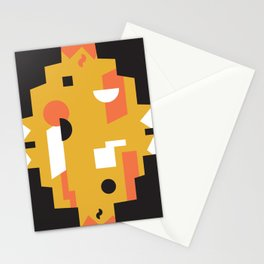 Techno Thunder Stationery Cards