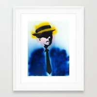 suits Framed Art Prints featuring SUITS by Clay Bakkum
