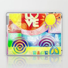 More Peace Love Laptop & iPad Skin