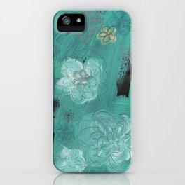Flower Burst 3 iPhone Case