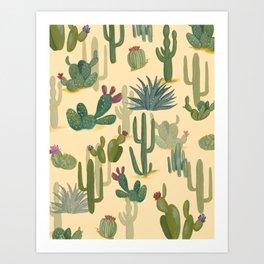 Desert Gulch Art Print