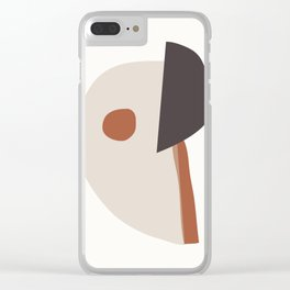 abstract minimal 39 Clear iPhone Case