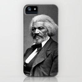 Frederick Douglass Portrait iPhone Case