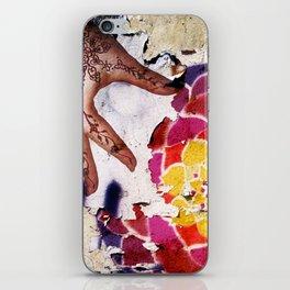 Flower power iPhone Skin