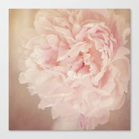 blush Canvas Prints featuring BLUSH by Jenny Ardell