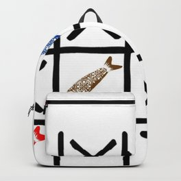 Fish Game Backpack