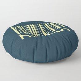 The Human ID Floor Pillow