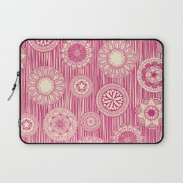 mandala cirque spot pink cream Laptop Sleeve