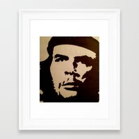 che Framed Art Prints featuring Che  by ngobs