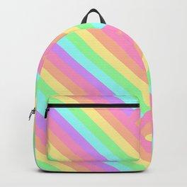 Woven Rainbow Backpack
