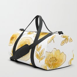 Yellow roses Duffle Bag