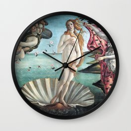 The Birth of Venus, Sandro Botticelli Wall Clock