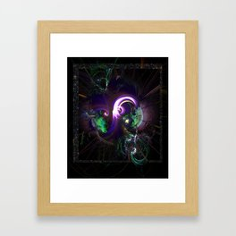 Chaos to Cohesion Framed Art Print
