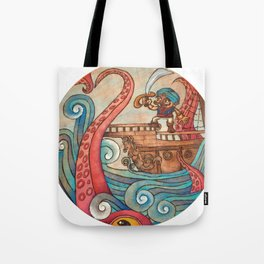 Simbad: Monsters of deep sea. Tote Bag