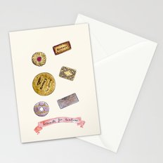 biscuits for tea time Stationery Cards