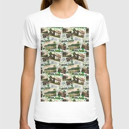 Vintage Postcards, Greetings From Ireland T-shirt