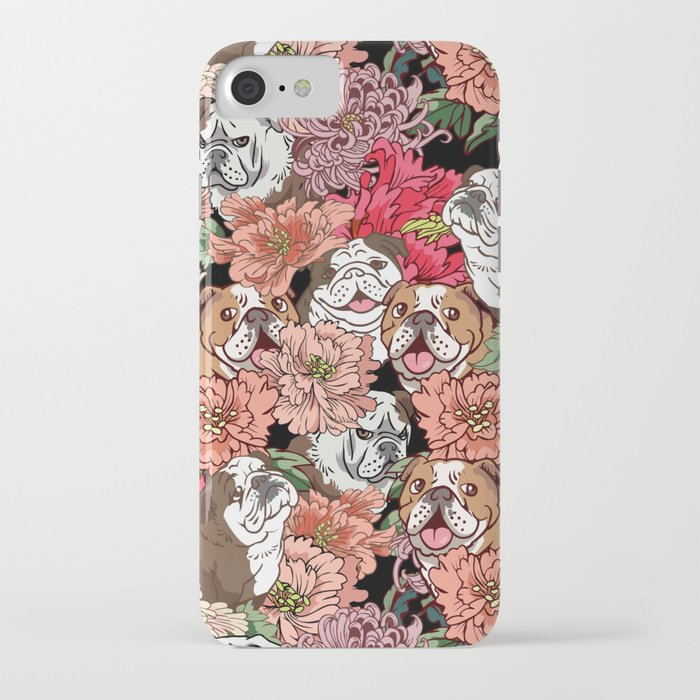 because english bulldog iphone case