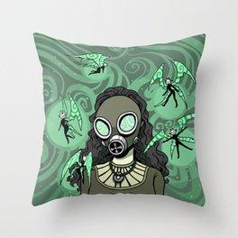 Toxic Fairy Dust Throw Pillow