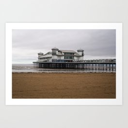 Weston-Super-Mare Grand Pier Art Print