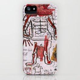 Mr Bones iPhone Case