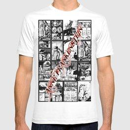 WHITE - A nne Frankenstein Book I - Resurrection T-shirt