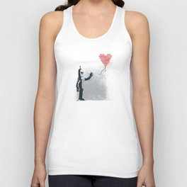 Binary Art Unisex Tank Top