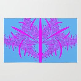 pink strukture Rug
