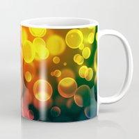 bokeh Mugs featuring bokeh by davidmichel