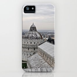 View From The Leaning Tower iPhone Case