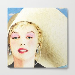 norma jeane august 2016 Metal Print