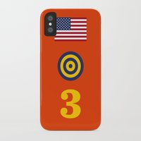 marc johns iPhone & iPod Cases featuring Iconic Painters: Jasper Johns by re:design