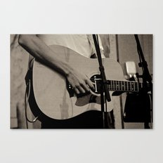 Soundcheck Canvas Print