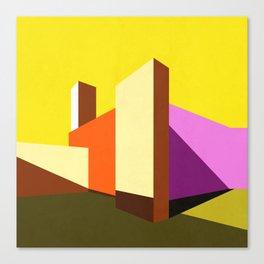 Casa Barragán Modern Architecture Canvas Print