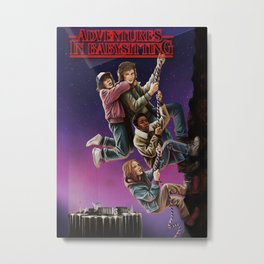 Adventures in Babysitting Metal Print