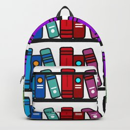 Rainbow Library Backpack