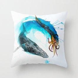 Ocean Balance Throw Pillow
