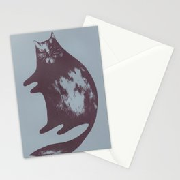 Wolfy Cat Stationery Cards