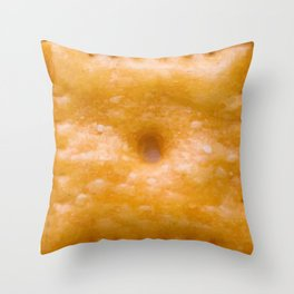 Cracker Con Queso Throw Pillow