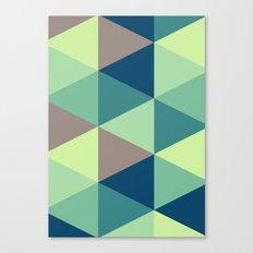 I spy triangles Canvas Print