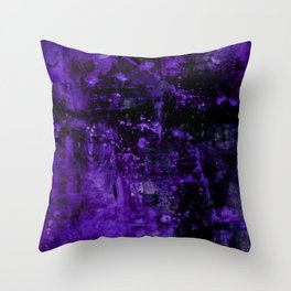 Voices Of The Night No.1c by Kathy Morton Stanion Throw Pillow