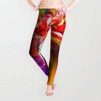 spring Leggings featuring Spring by Walter Zettl
