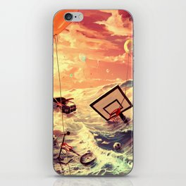 Don't trash your dreams iPhone Skin
