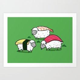 Susheep Art Print