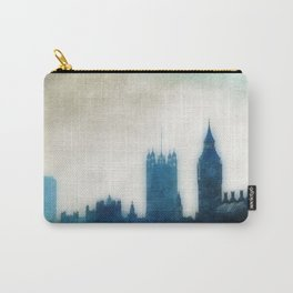 The Many Steepled London Sky Carry-All Pouch