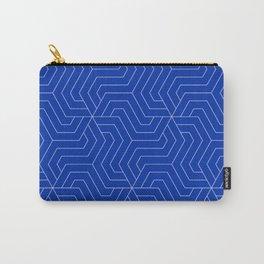International Klein Blue - blue - Modern Vector Seamless Pattern Carry-All Pouch